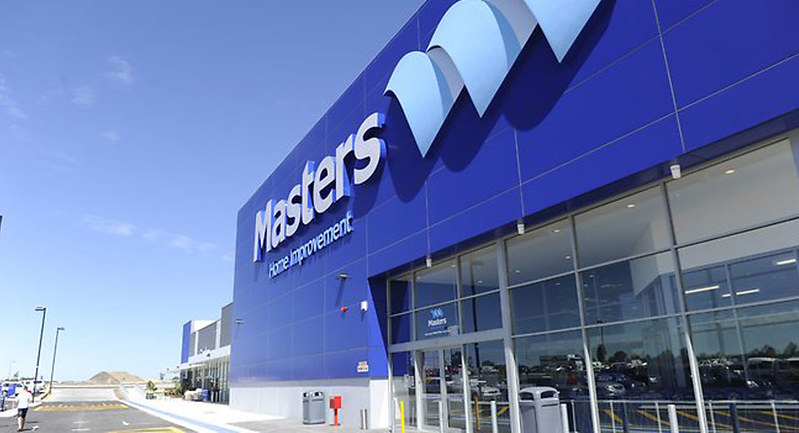 The Masters Home Improvement store is nearing completion in Butler (WA)