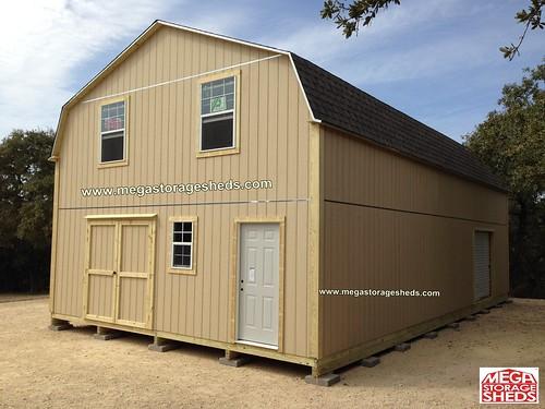 Storage sheds houston custom built cabins for Custom storage sheds