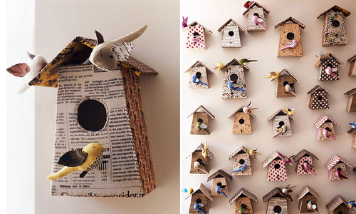 Birdhouses by Tamar Morgendorff