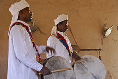 Gnawa musicians in Khamlia
