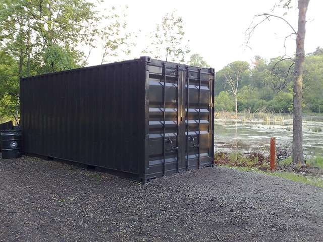 Shipping Container as Art Vessel | Flickr - Photo Sharing!