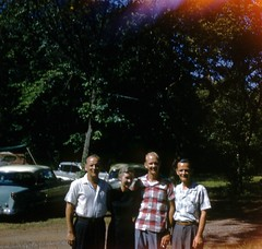 Harmon Family Reunion in Oklahoma - 1959