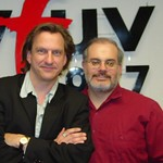 Ellis Paul at WFUV with Darren DeVivo