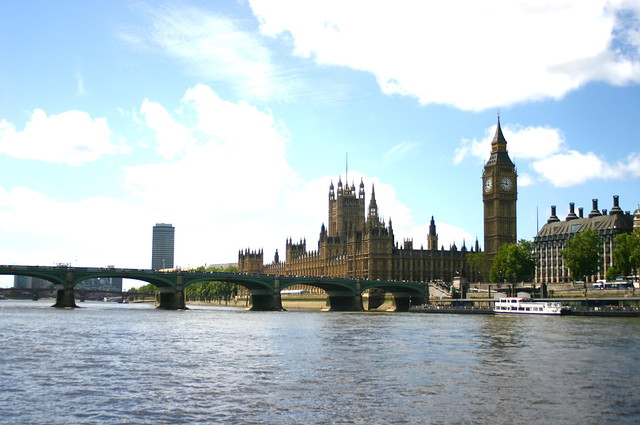 Westminster Palace from the river thames | Flickr - Photo