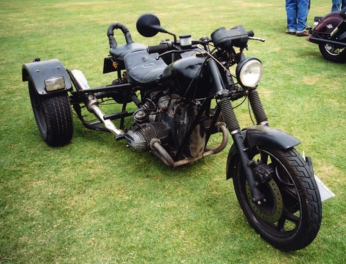 Rat Trike / Survival Trike Motorbike at Barnsley Custom & Classic Bike Show