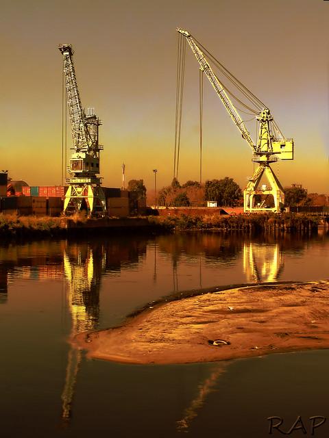 HDR Puerto de la Boca - Buenos Aires