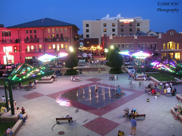 old town square at dusk flickr photo sharing
