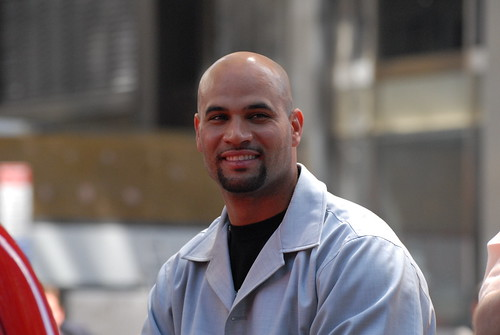 2008 MLB All-Star Parade, Albert  Pujols