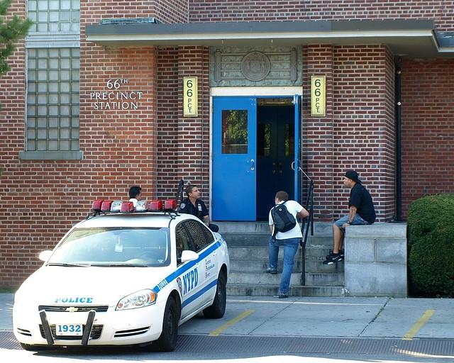 P066 Nypd Police Station Precinct 66 Boro Park Brooklyn