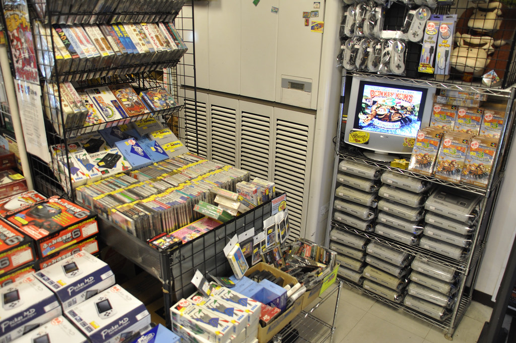 The Bargain Bin at Super Potato in Akihabara