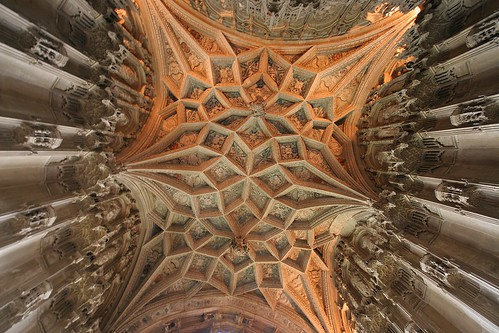 Stone ceiling - Ely Cathedral