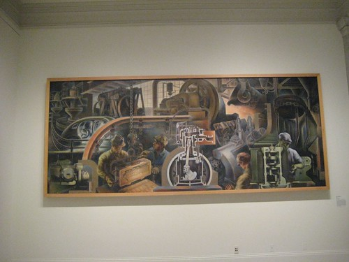 Automobile Industry (Mural, Detroit Public Library)