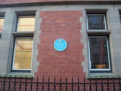 Photo of Ernest Rutherford blue plaque