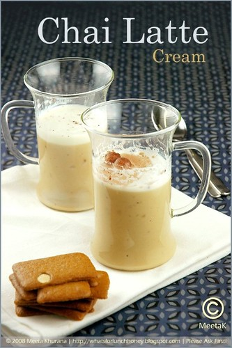 Chai Latte Cream