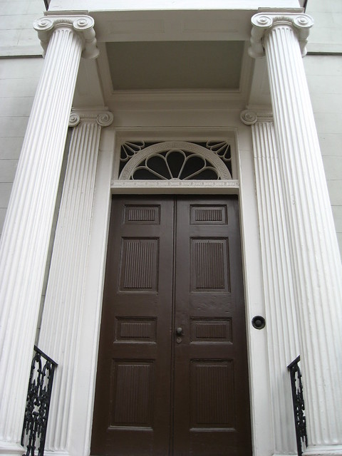 Front door of the confederate white house flickr photo - Front doors on white houses ...