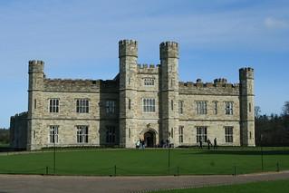 Front Facade of Leeds Castle