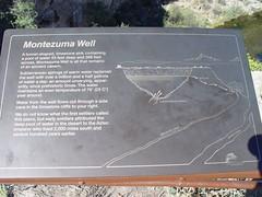 Montezuma Well Nat'l Monument - Info Sign