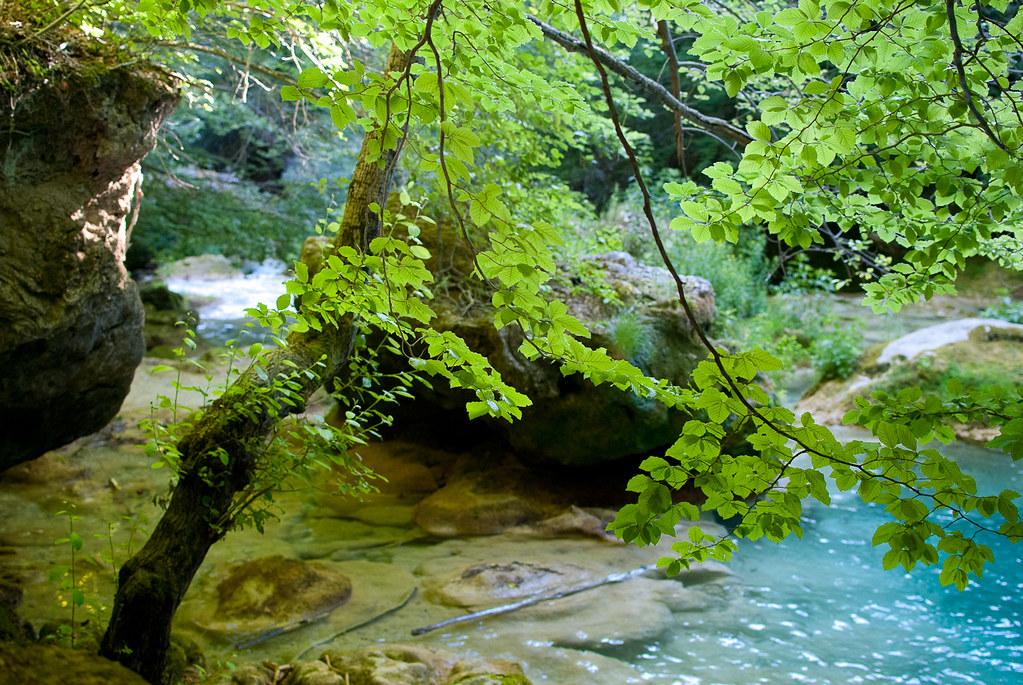 Parque Natural río Urederra (Navarra)