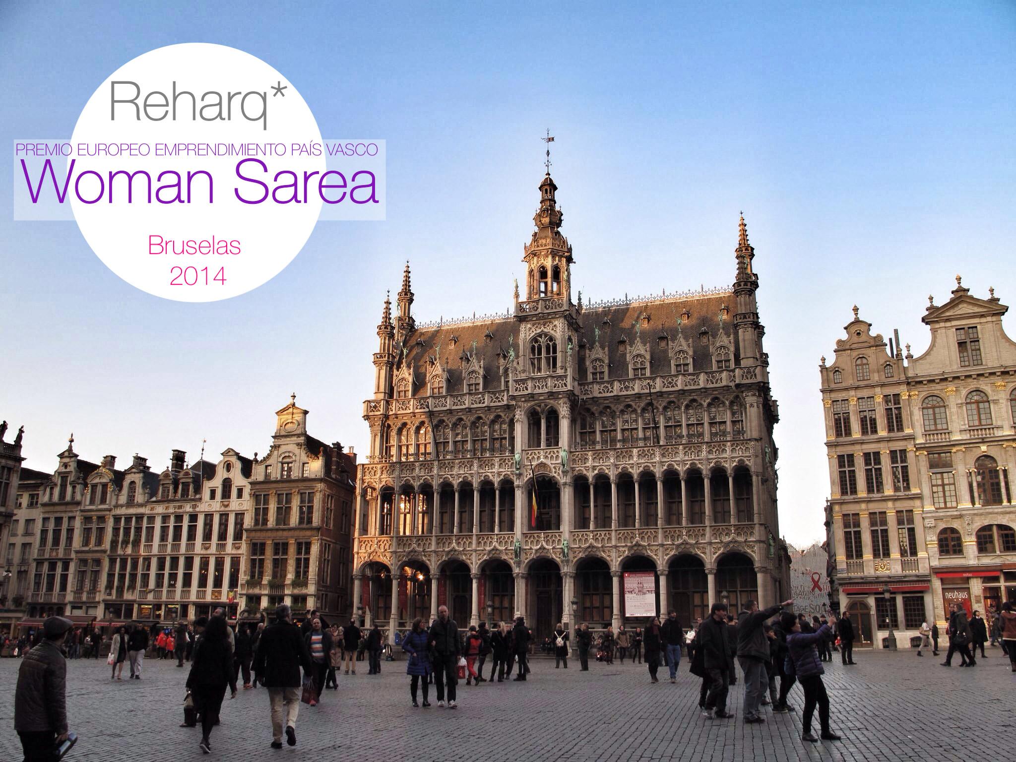 premio woman sarea_bizzia_reharq_emprendimiento europeo femenino