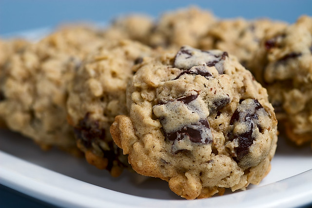 ... Chocolate Chunk and Dried Cherry Oatmeal Cookies | Flickr - Photo