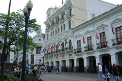 historical center of quito
