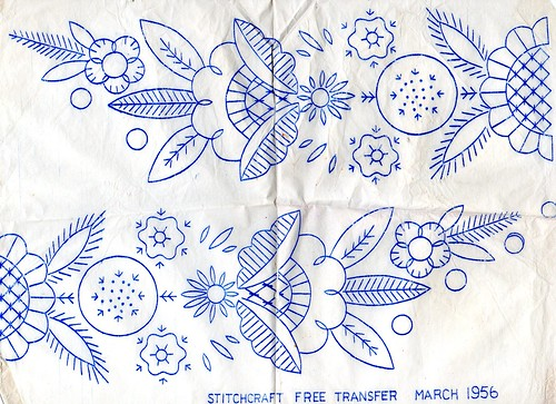 Vintage embroidery transfers on flickr coletterie