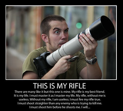 'This is my rifle...'