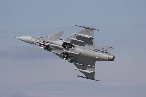 Swedish airforce gripen Display