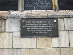 York: Whip-ma-whop-ma-gate