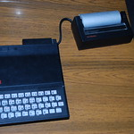 Sinclair ZX81 & thermal printer