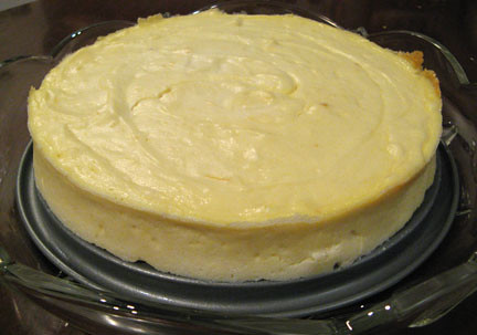 goat cheese cheesecake | Excuse the awkward plating...turns ...
