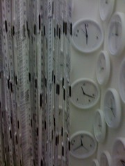 white, interior design, plaster, circle,