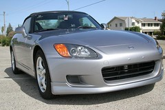 automobile(1.0), automotive exterior(1.0), wheel(1.0), vehicle(1.0), performance car(1.0), automotive design(1.0), rim(1.0), honda(1.0), honda s2000(1.0), bumper(1.0), land vehicle(1.0), luxury vehicle(1.0), coupã©(1.0), sports car(1.0),