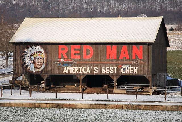 Red Man Tobacco Barn 2 Flickr Photo Sharing