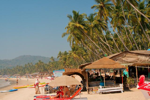 Palolem beach in Goa by CC user christianhaugen on Flickr