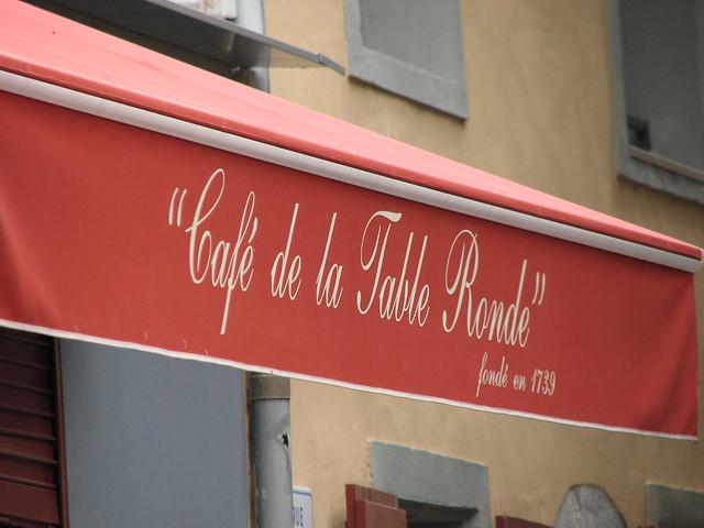 Grenoble Caf De La Table Ronde Flickr Photo Sharing