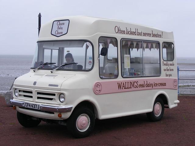 Ice Cream Van: Bedford CFH437J Morecambe