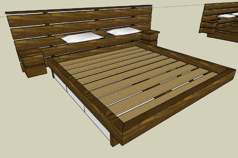 Woodworking Plans Build Platform Bed Pdf Plans