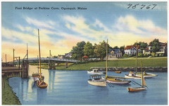 Foot Bridge at Perkins Cove, Ogunquit, Maine