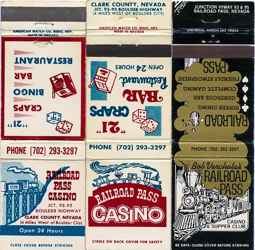 Bob verchotas railroad pass casino bacara casino