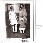 "Emily Lima and Stella Lima Santos with Manual ""Bogie"" Lima"