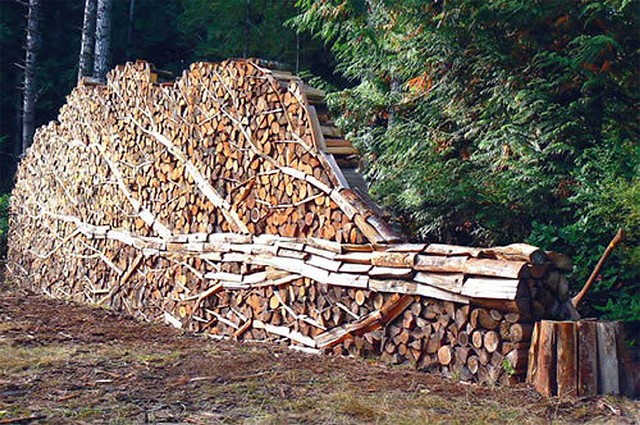 Wood stack tree