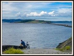 Cramond Island in summer
