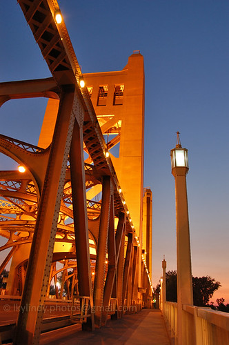 california road ca bridge light sunset west tower june vertical river gold evening twilight nikon lift dusk capital capitol walkway sacramento bluehour 2008 gloaming d40 withsky abigfave diamondclassphotographer flickrdiamond theperfectphotographer perfectphotographer
