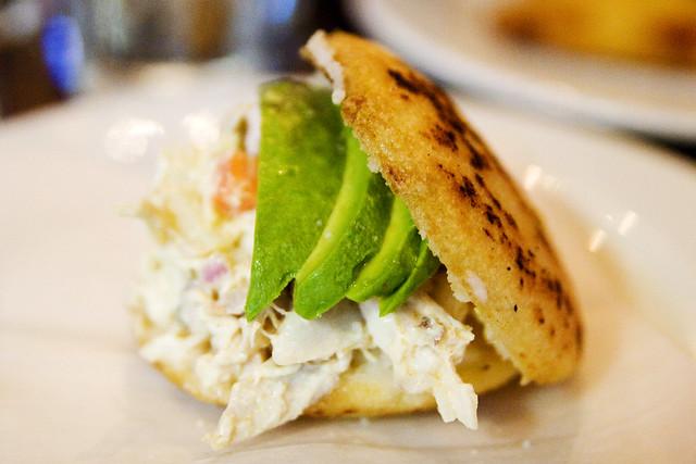 Reina Pepiada | Shachi's chicken-potato salad, avocado Kat… | Flickr ...