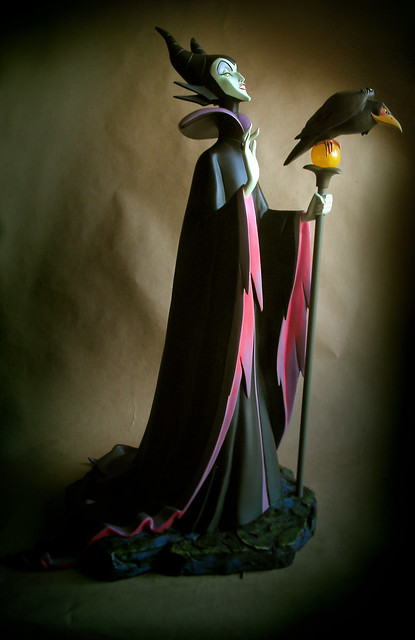Maleficent and Raven Big Fig