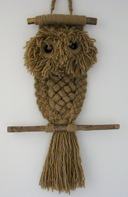 Ralph The Macrame Owl Flickr Photo Sharing