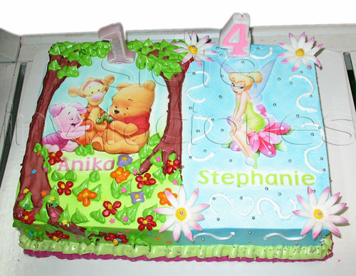 pastel personalizado tinkerbell winnie pooh Flickr Photo Sharing!