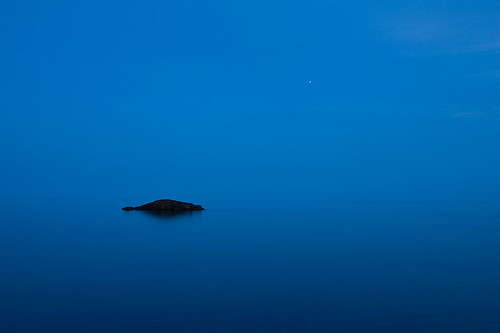 A Still Night on Lake Superior