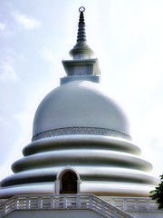 place of worship, stupa, dome,